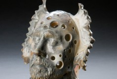 Jester wood-fired porcelain by Tony Moore