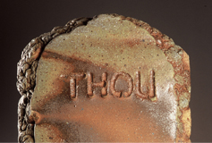 Thou by Tony Moore - wood-fired ceramic