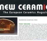 Tony Moore article in New Ceramics, 2016